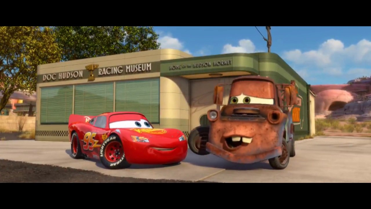 Cars 2 Mcqueen And Mater Having Fun Youtube