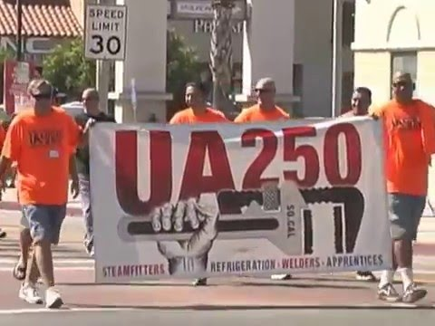 Los Angeles Long Beach-Harbor Area Labor Day Parade Film  2015