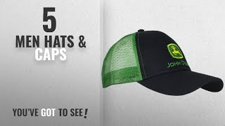 John Deere Hats & Caps [ Winter 2018 ]: John Deere Embroidered Logo Mesh Back Baseball Hat -