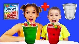 Желейный Стакан ХАРИБО Как сделать желейный стакан Jelly Glass Haribo