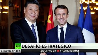 ¿Socio o rival? Xi Jinping visita a Macron durante su gira por países europeos