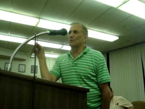 Steve Durst at Millville Planning Board Aug 10