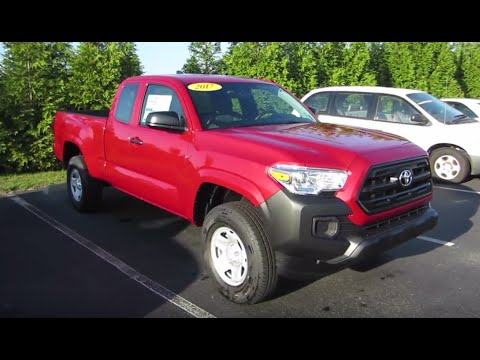 2016 Toyota Tacoma Access Cab >> 2017 Toyota Tacoma SR Access Cab Full Tour & Start-up at Massey Toyota - YouTube