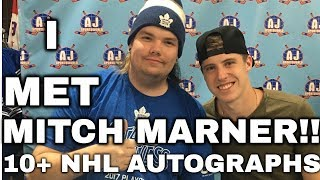 I MET MITCH MARNER! 10+ NHL AUTOGRAPHS | TORONTO SPORTS EXPO | ARCADE REGIMENT