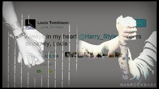 harry + louis   always in my heart, love you goodbye