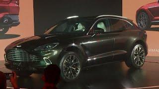 ZOOM : un premier VUS pour Aston Martin