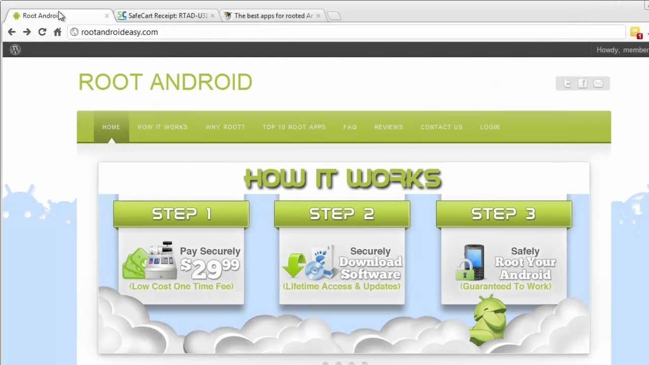 root android phone software