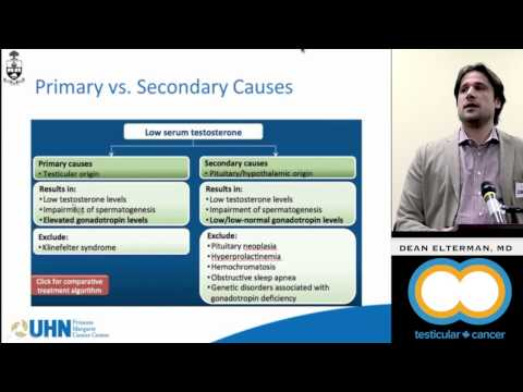 Testosterone Replacement Therapy - Testicular Cancer Canada Patient Symposium 2014
