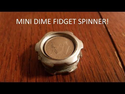 diy cheap fidget toy finger caps penny pad hand spin doovi. Black Bedroom Furniture Sets. Home Design Ideas