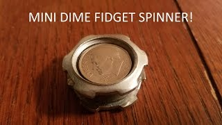 diy mini fidget spinner for cheap