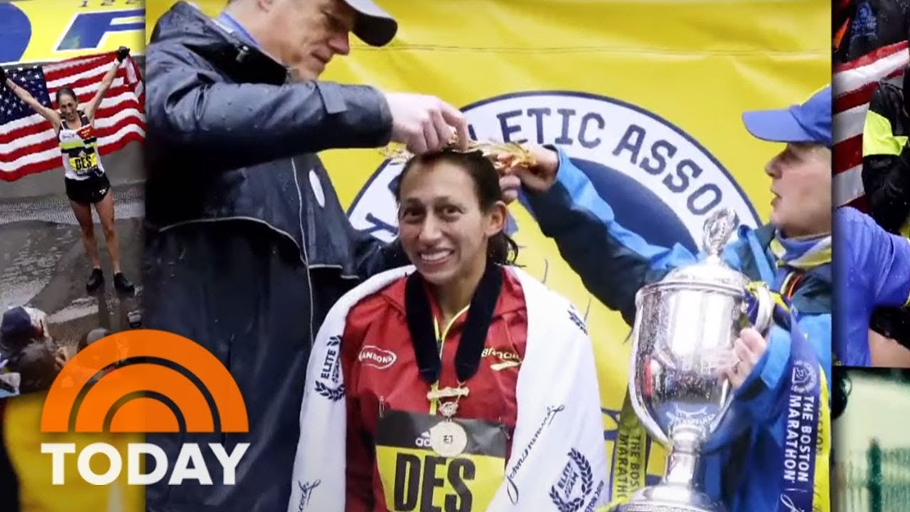 Des Linden, First US Woman To Win Boston Marathon Since 1985, Talks To TODAY | TODAY