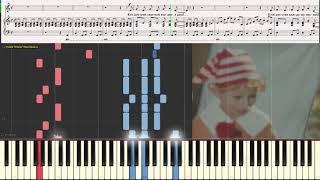 Бу-ра-ти-но! (А. Рыбников) (Ноты и Видеоурок для фортепиано) (piano cover)