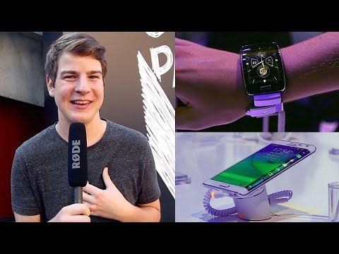 Erster Eindruck: Samsung Galaxy Note 4, Note Edge, Gear S und Gear VR! - felixba