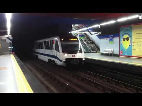 Metro de madrid línea 9 serie 8000 en Colombia