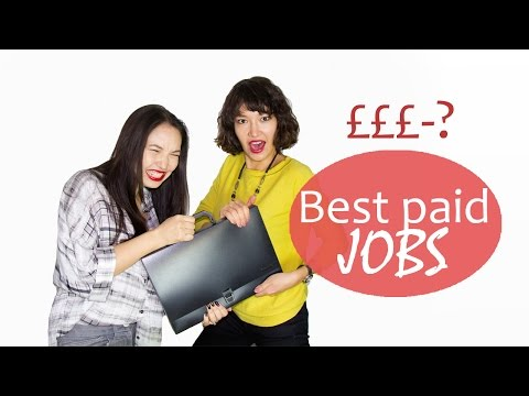 5 BEST PAID JOBS in the UK and a DEGREE you need to get there!
