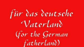 German National Anthem - Deutsche Nationalhymne