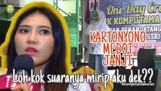 Download Mp3 Suaranya Mirip Via Vallen Pas Nyanyi Lagu Kartonyono Medot Janji Live - Denny Ca