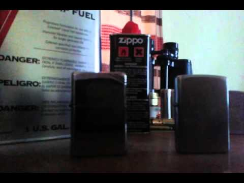 alternative fuel for your zippo