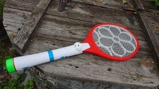 как работает электрическая мухобойка #BeautifulLife
