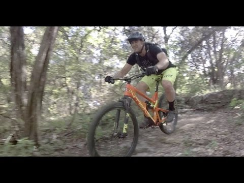 Mountain Biking Barton Creek Greenbelt gnarly back trails
