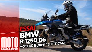 """BMW R 1250 GS avec le nouveau moteur BOXER """"SHIFTCAM"""" - TEST RIDE"""