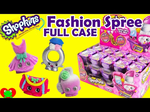 Shopkins Season 4 Fashion Spree Blind Baskets Full Case