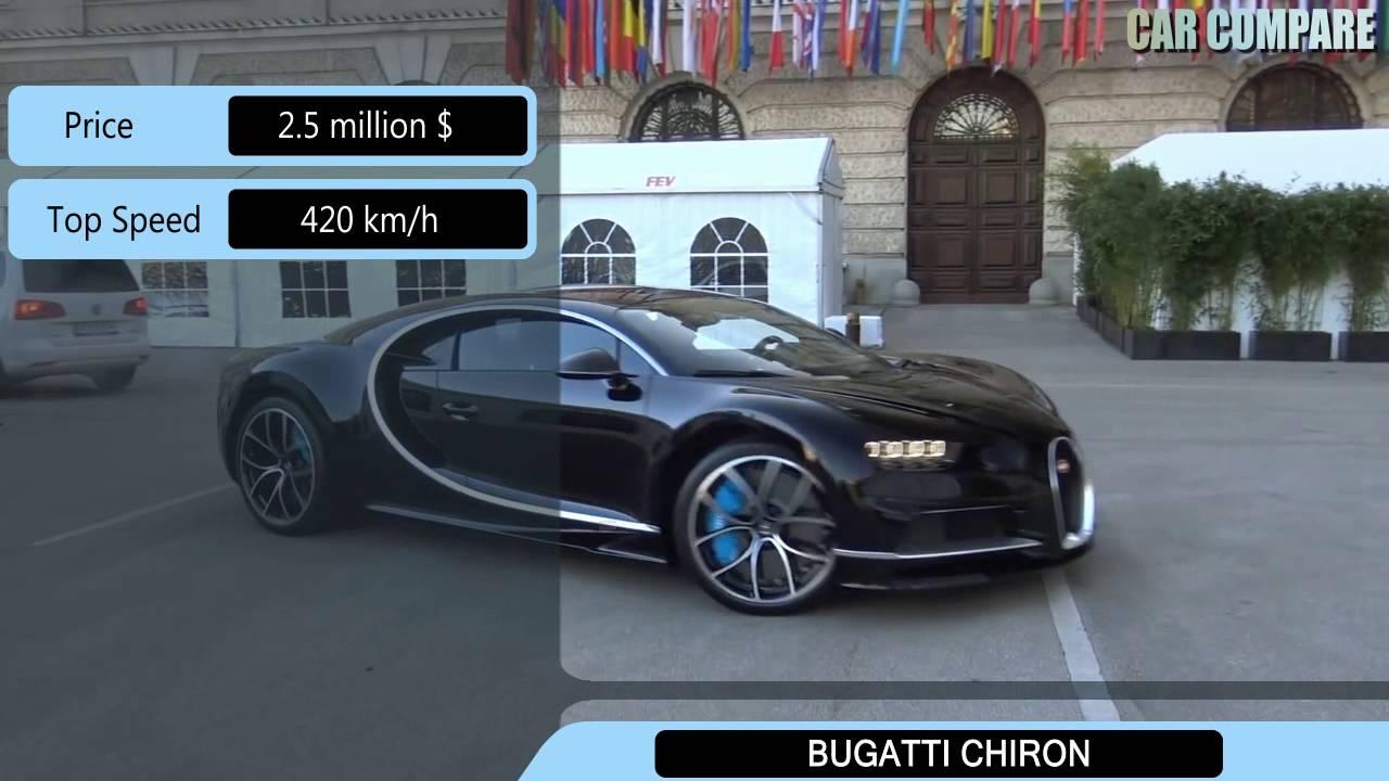 koenigsegg regera vs bugatti chiron specifications youtube