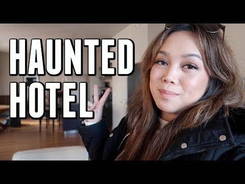 ONE NIGHT IN A HAUNTED HOTEL IN SEATTLE-  ItsJudysLife Vlogs