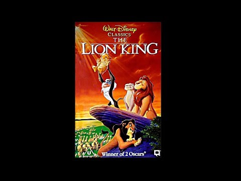 the lion king 2 vhs