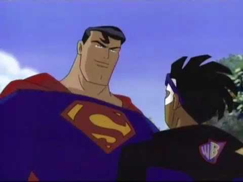Static Shock meets Superman