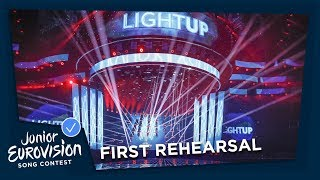 OFFICIAL RECAP - First Rehearsals - Junior Eurovision 2018