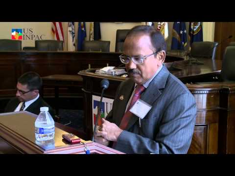 Mr. Ajit Doval, Former Director Intelligence Bureau speaks at the USINPAC- Afg Conf.