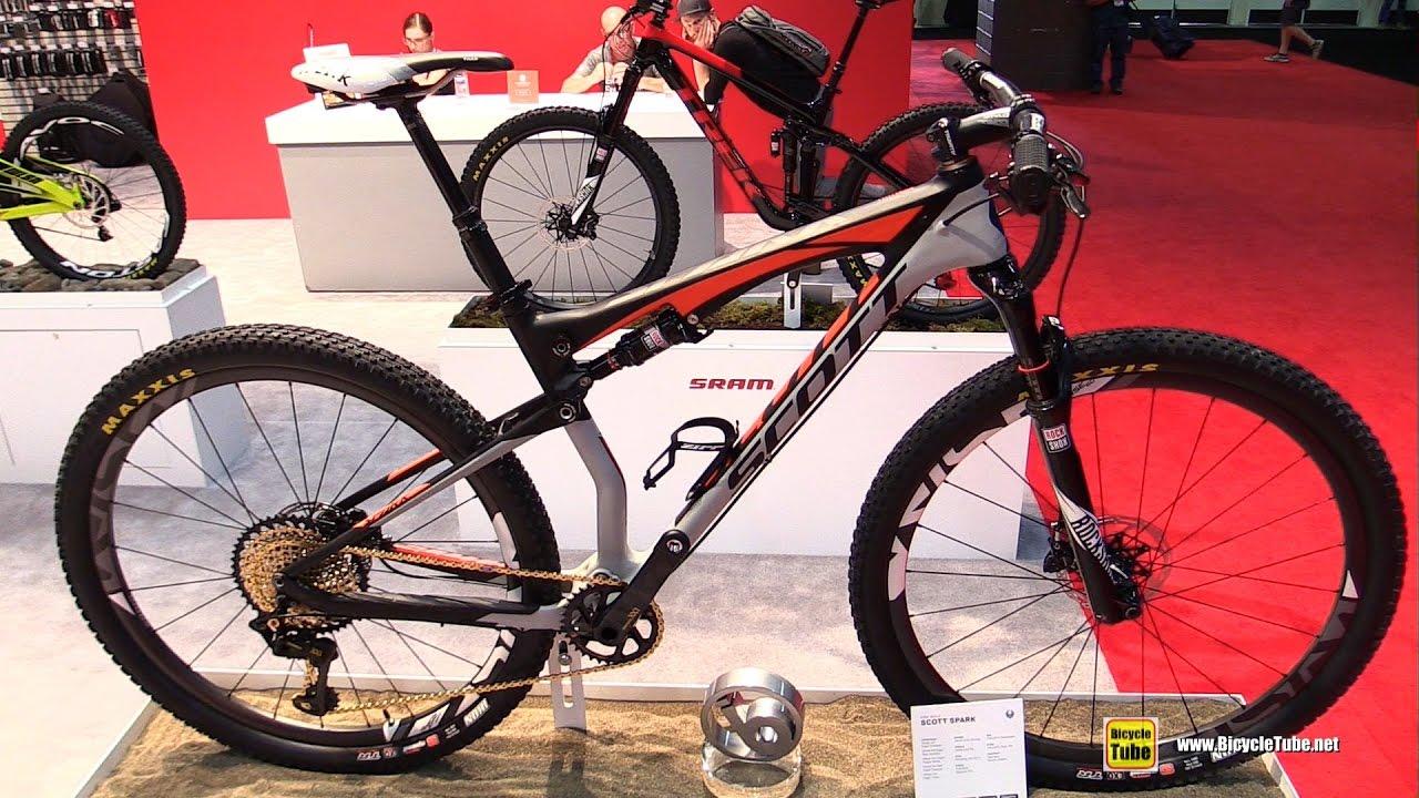 56c28bb2300 2017 Scott Spark Mountain Bike - Walkaround - 2016 Interbike Las Vegas
