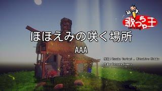 【カラオケ】ほほえみの咲く場所/AAA