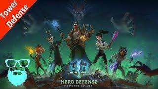 обзор игры Hero Defense Haunted Island