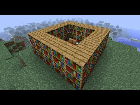 Minecraft How To Make Enchantment Table Stronger