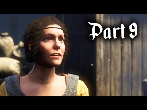Kingdom Come Deliverance Gameplay Walkthrough Part 9 - THE H