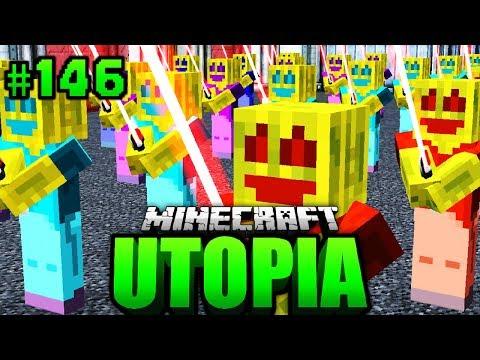 Die KLONE... sind FERTIG?! - Minecraft Utopia #146 [Deutsch/HD]