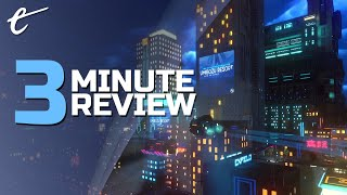 Cloudpunk | Review in 3 Minutes (Video Game Video Review)