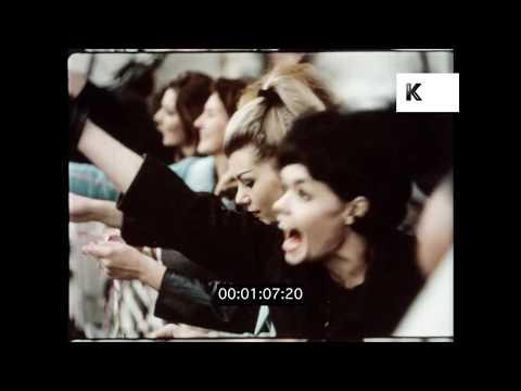 1950s Passenger Liner Leaving Liverpool Docks, HD from 16mm