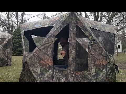 Unboxing Of The Ameristep Dominator Hub Style Ground Blind. Is It Right For You?