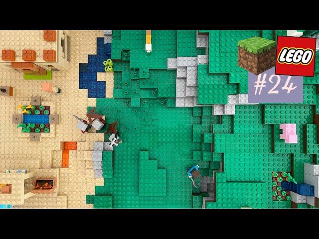 LEGO® X Minecraft World #24 - Staffelfinale! und: Detailarbeiten