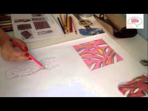 Atölye İzmir® Moda Tasarım - Kumaş Desen Tasarımı