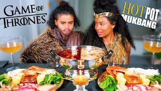 GAME OF THRONES CRAB HOT POT MUKBANG