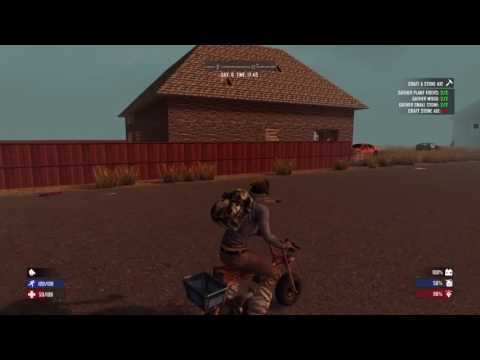 7 days to die ps4 cheat mode episode 1 - getting you guys caught up