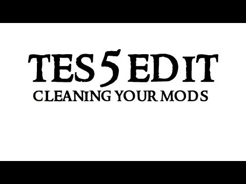 Skyrim Mod Tool TES5EDIT : Cleaning your mods