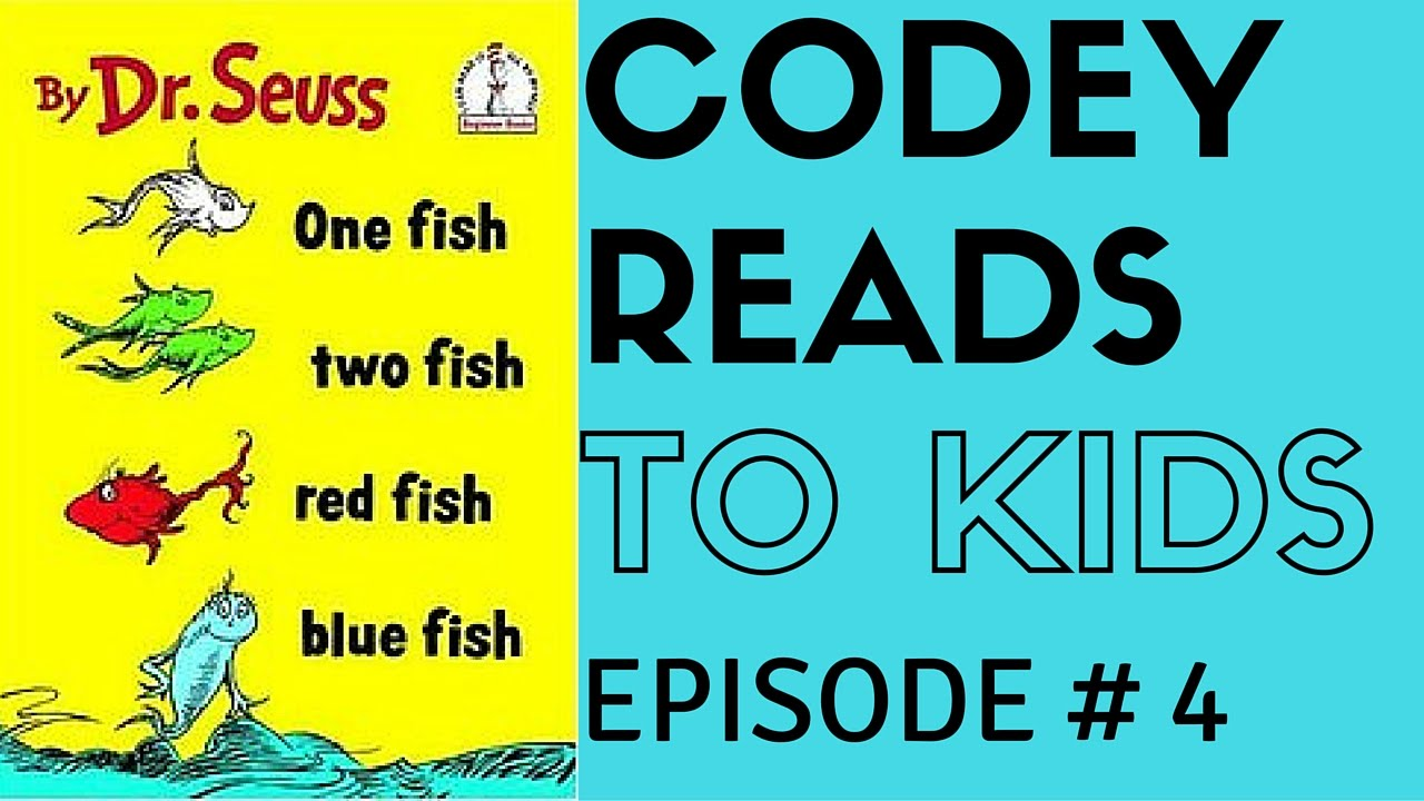 One fish two fish red fish blue fish dr seuss youtube for One fish two fish red fish blue fish
