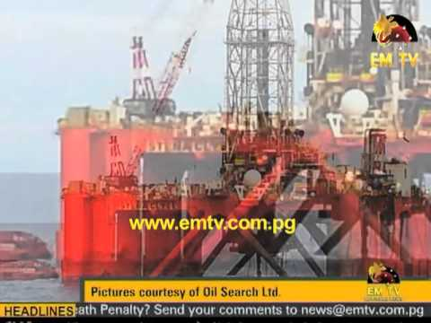 Oil Search 1st Offshore Well