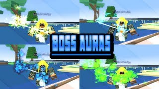 ROBLOX Injustice OA - All BOSS Auras and Locations