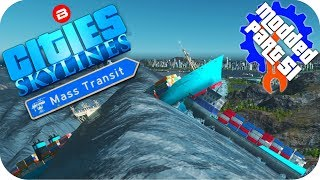 Let's Play Cities Skylines: MODDED Mass Transit DLC. Checking out t...
